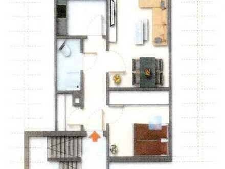 Schnuckelige, sanierte 2-Zimmer-Dachgeschosswohnung zu verkaufen!