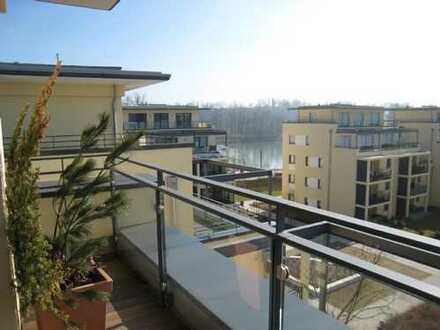 Traumhafte Penthouse-Wohnung an den Inn-Terrassen in Rosenheim