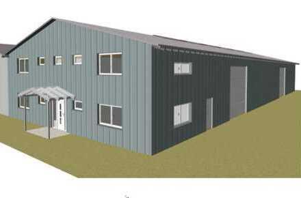 Gewerbehalle langfristig zu vermieten. Lagerfläche 644 m2 + Büro ca.125 m2