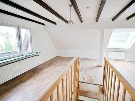 Familienidyll - Charmante Wohnung in Kattenesch über 2 Ebenen