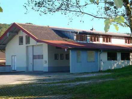 Gewerbeobjekt in Traunstein - Arbeiten an der Seiboldsdorfer Mühle