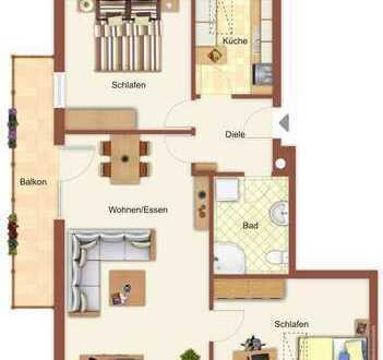 Gepflegte 3-Zimmer-Eigentumswohnung mit Balkon Nähe Freyung