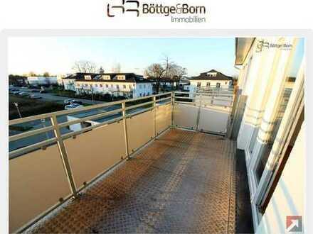 2 helle Zimmer mit Südwest Balkon, Fußbodenheizung, Bad mit Wann und Dusche, Stellplatz!