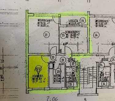 3 Zimmer Wohnung Zentral Bonn - an den Ministerien- Duisdorf/Hardtberg inkl. Einbauküche/Balkon
