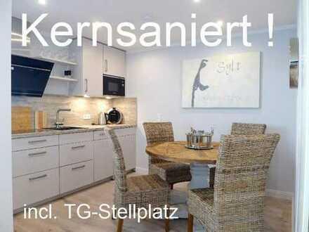 """Neben der """"NEUEN MITTE""""! Moderne Eck-Wohnung mit Loggia und TG-Stellplatz"""