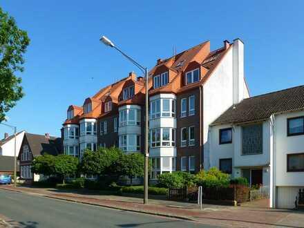 Gepflegte 3-Zimmer-Wohnung mit Balkon und Einbauküche in Bremen Vegesack-Aumund-Hammersbeck