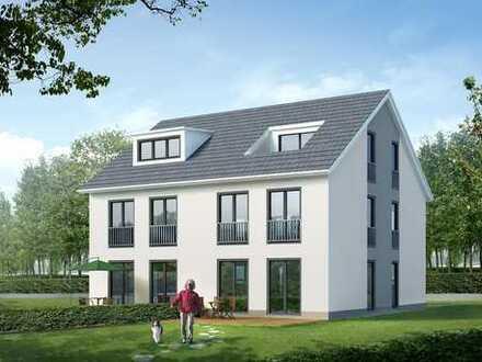 Moderne DHH in der Massivbauweise mit Studio, schön gelegenes Grundstück..!