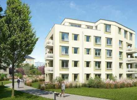 Neubau: Exklusive 3-Zimmer-Penthouse-Wohnung mit Balkon in der Innenstadt!