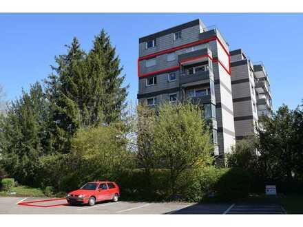 Wohnen mit Aussicht für Jung und Alt. 3-Zimmer-Etagenwohnung in Heutingsheim