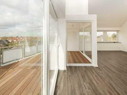 Wunderschöne helle Penthousewohnung im Herzen von Harrislee zu vermietetn