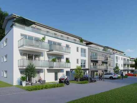 **Modern und zentral wohnen im Quartier am Stadtgarten**