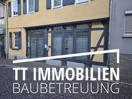 Moderne, repräsentative Büro-, Praxisfläche auf einer Ebene mitten in Dieburg-Fußgängerzone