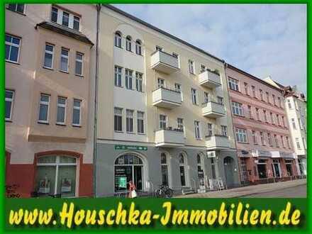 Sanierte Altbauwohnung im 1. OG mit Balkon in Oranienburg zu vermieten