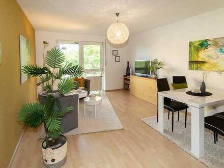 Bezugsfrei: Schmuckes Single-Apartment mit Balkon nähe Klinikum