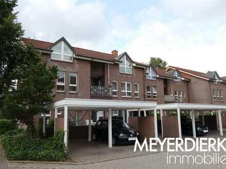 Kreyenbrück - Paula-Modersohn-Becker-Str.: renovierte 3-Zimmer-Wohnung über drei Ebenen mit Terrasse