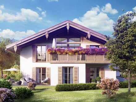 Ihr elegantes Zuhause im Herzen Rottachs mit sonniger Terrasse und wunderschön angelegtem Garten