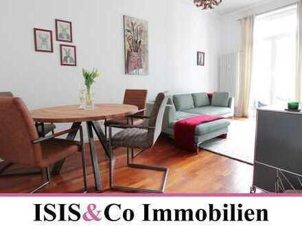 ISIS&Co • Luxus 2 Zimmerwohnung im repräsentativen Altbau im Malerviertel