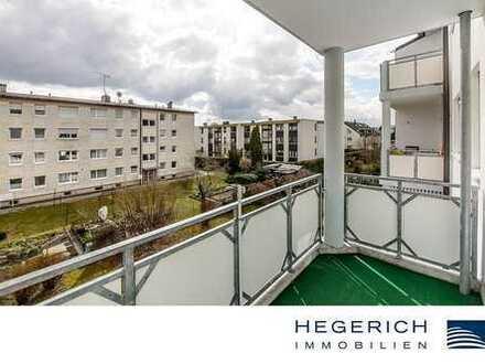 HEGERICH: 2-Zimmer-Wohnung mit Balkon in Germering