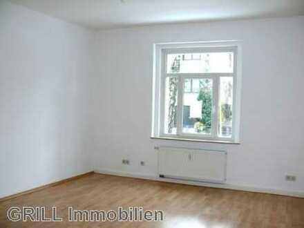 Schöne Wohnlage: 2-R-Wohnung mit Süd-Balkon, 1.OG, Einbauküche, Abstellraum, Keller und Stellplatz