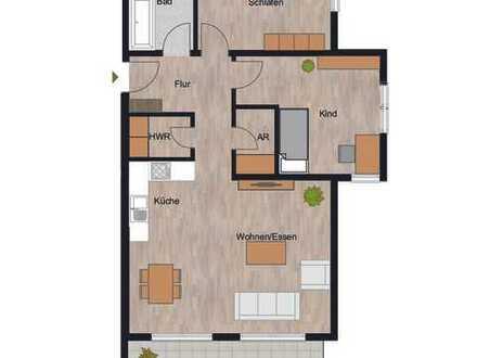 RESERVIERT!!! Herrliche 3-Zimmer Wohnung mit riesiger und sonniger Balkon!!!