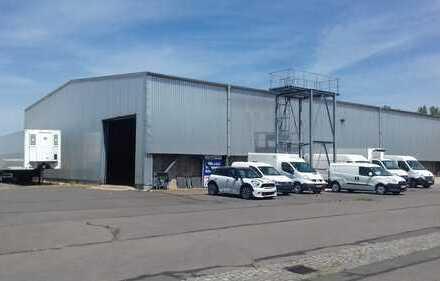 Kalte Lagerhalle, direkt an der A14, provisionfrei zu vermieten
