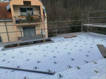 Die besondere Neubau Maisonette-Wohnung mit 30 m² Terrasse plus Balkon zentrumsnah in Sigmaringen