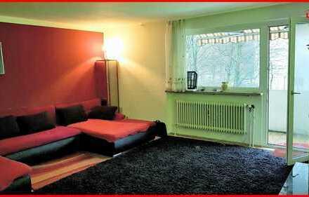 -- Attraktive Kapitalanlage -- ruhig gelegene 3-Zimmer Wohnung in Hochzoll-Süd (Erbbaurecht)