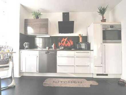 Sonnige 4 Zimmer- Maisonettewohnung mit Fernblick