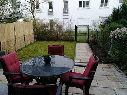 Attraktive Terrassen-Wohnung mit Garten in ruhiger Wohnlage von Stuttgart-Sommerrain