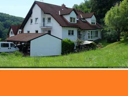 Charmante Maisonette-Wohnung am Rande des Naturparks Spessart
