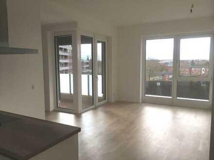 Top moderne Wohnung mit großem Balkon und freier Sicht!!