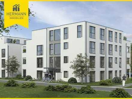 Neubau Erstbezug! Moderne 3-Zimmerwohnung im 1. OG mit Balkon in Erlensee