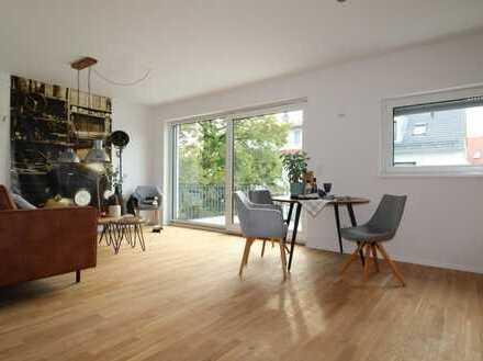 Exklusive 2,5-Zimmer-Neubauwohnung, großer Südbalkon, ruhige Wohnlage, Fahrstuhl, TG, U-bahn!!!