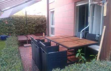 Sonnige und ruhige Gartenwohnung in Obermenzing