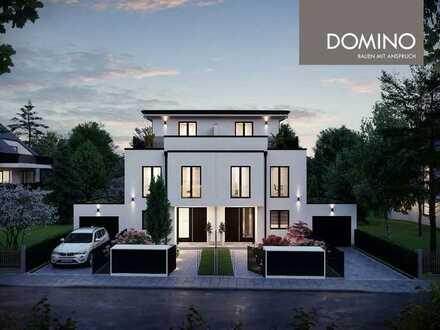 DOMINO Bau: Stilvolle Villenhälfte im beliebten Denning