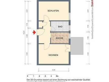 !!! funktionaler Grundriss * sofort bezugsfrei in Babelsberg Süd * Balkonzimmer ins grüne !!!