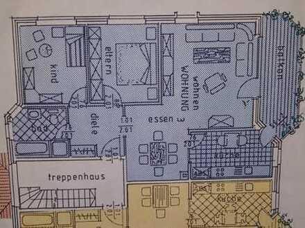 Gepflegte 3-Zimmer-Wohnung mit Balkon und Einbauküche in Zinnowitz