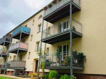 Kapitalanlage mit Blick ins Leutzscher Villenviertel ++2 Zimmer mit Balkon++