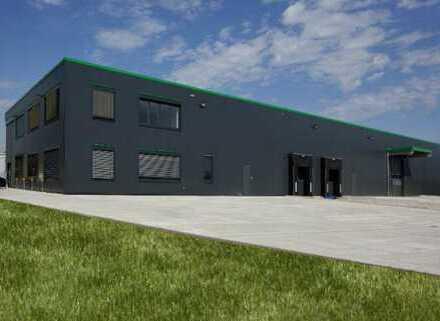 """""""BAUMÜLLER & CO."""" ca. 4000 m² Hallenfläche mit Rampenandienung"""