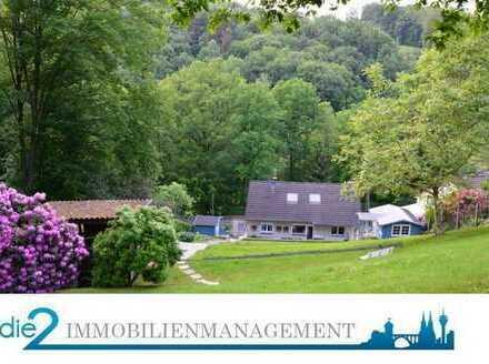 Freistehendes und kernsaniertes 1-2 Familienhaus mit Garage, Stellplätzen und großen Garten.