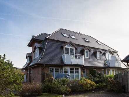 Strandnahe 3 Zimmer-Wohnung mit Westbalkon