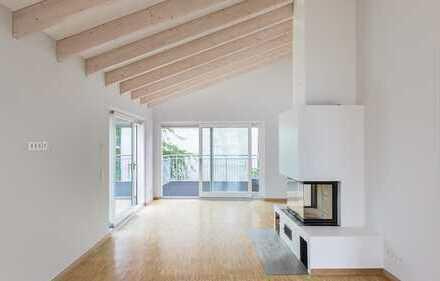 HOMESK - Dachgeschoss-Maisonettewohnung, Altbau in Mitte, 206m², 3 Terrassen und Sauna