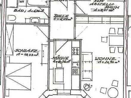 Nachmieter für 2-Zimmer-Wohnung mit Balkon in Nossen gesucht