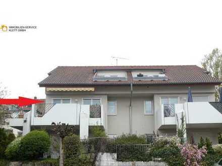 Attraktive 3,5-Zimmer Wohnung in Aussichtslage