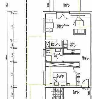 Nr 3. Erstbezug ! Sonnige 2-Zimmer-Wohnung in einem 6 Familienhaus