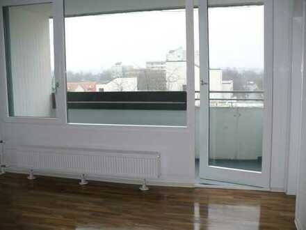 Stilvolle, gepflegte 1-Zimmer-Wohnung mit Balkon.