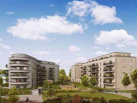 Perfekt vernetzt: 3-Zi.-Wohnung mit Barrierefreiheit und Balkon zentrumsnah und von Grün umgeben