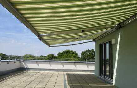 Laim - 4 Zi-Dachterrassen-Whg mit Blick über München bis hin zu den Alpen