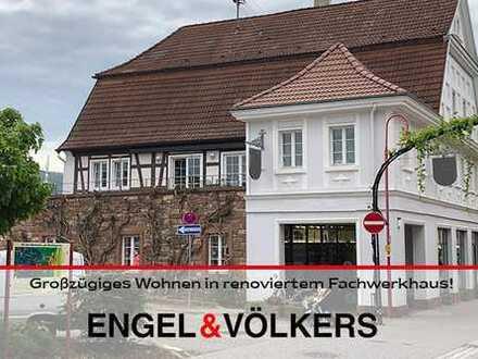 Großzügiges Wohnen in renoviertem Fachwerkhaus!