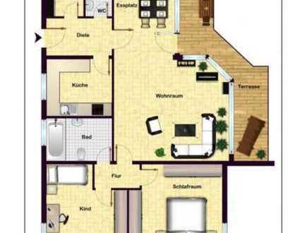 3-Zimmer Wohnung 85m2 am Maria-Hilf-Berg mit Terrassenbalkon und Tiefgaragenstellplatz / provisionsf